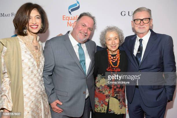 Equality Now Global Executive Director Yasmeen Hassan Bruce Miller Margaret Atwood and Warren Littlefield attend Equality Now's Make Equality Reality...