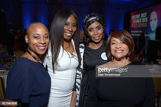 Equality Now's Helen Stewart Dr Natasha Sandy honoree Jaha Dukureh and actress Debbie Allen attend Equality Now's third annual Make Equality Reality...