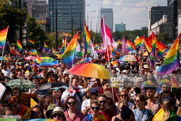 Equality Parade marched through Warsaw again - after being canceled in 2020 due to Covid restrictions. As well it was the first parade after...