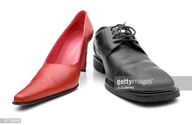 equality - mens dress shoes stock pictures, royalty-free photos & images