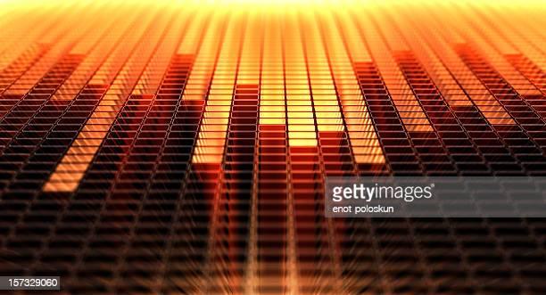 equalizador - equipamento de edição de som - fotografias e filmes do acervo
