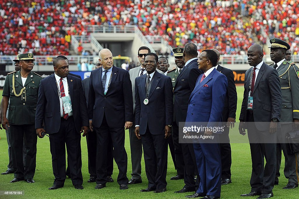 2015 Africa Cup of Nations - Equatorial Guinea and DR Congo National Football Team
