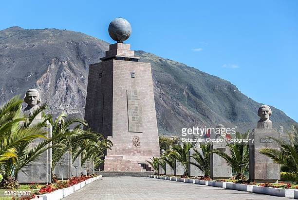 Equator's monument in Middle of the World City