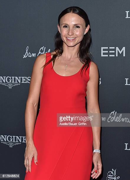 Equestrian Georgina Bloomberg arrives at Longines Masters Los Angeles Gala at Long Beach Convention Center on September 29 2016 in Long Beach...