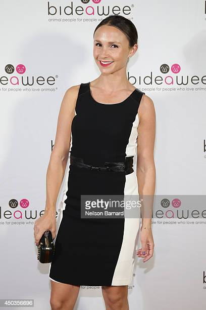 Equestrian Georgina Bloomberg attends the Bideawee Masquerade Ball at Gotham Hall on June 9 2014 in New York City