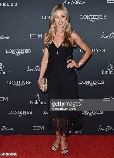 Equestrian Hannah Selleck arrives at Longines Masters Los Angeles Gala at Long Beach Convention Center on September 29 2016 in Long Beach California