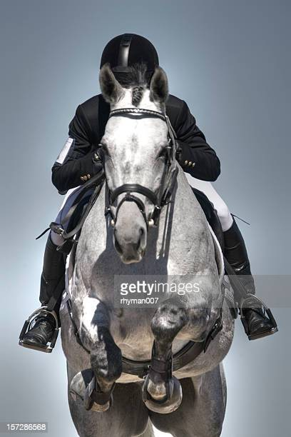 equestrian jumper - equestrian event stock pictures, royalty-free photos & images