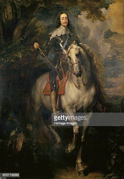 Equestrian Portrait of Charles I Found in the collection of Museo del Prado Madrid