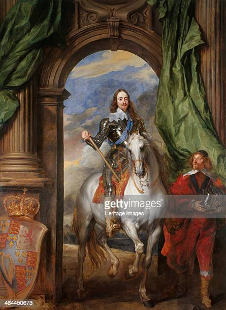 Equestrian portrait of Charles I King of England with M de St Antoine 1633 Found in the collection of the Royal Collection London