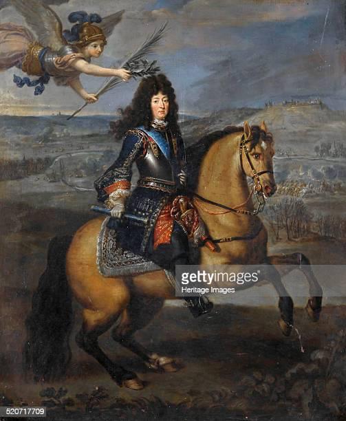 Equestrian portrait of Louis XIV at the Siege of Namur Found in the collection of Musée de l'Histoire de France Château de Versailles