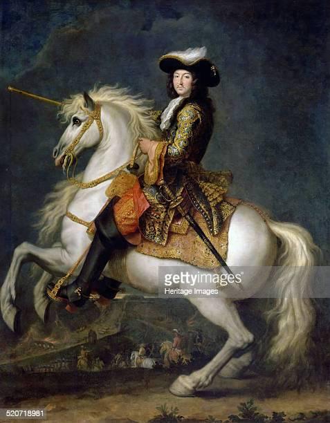 Equestrian portrait of Louis XIV Found in the collection of Musée de l'Histoire de France Château de Versailles