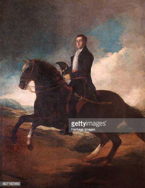 Equestrian portrait of the Duke of Wellington, 1812. From the collection of Apsley House, London. Artist: Francisco Goya.