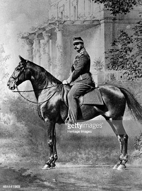 Equestrian portrait of Tsar Alexander II of Russia c1861c1865 Alexander was Tsar from 1855 Known as 'The Liberator' he emancipated Russia's serfs in...