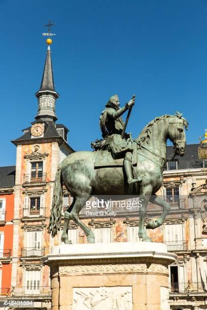 Equestrian Statue, Madrid