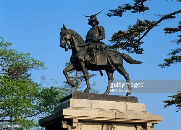 Equestrian Statue of Date Masamune, Sendai, Miyagi, Japan