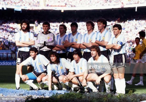 Equipe Argentine Cameroun / Argentine Match d'ouverture Coupe du Monde 1990