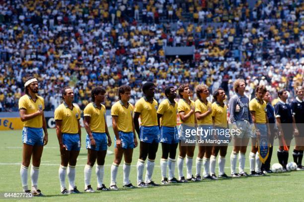 Equipe de france stock photos and pictures getty images - Finale coupe du monde 1986 ...