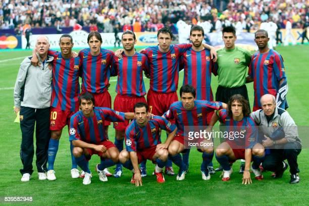 Equipe de Barcelone Fc Barcelone / Arsenal Finale de la Ligue des Champions Stade de France Paris