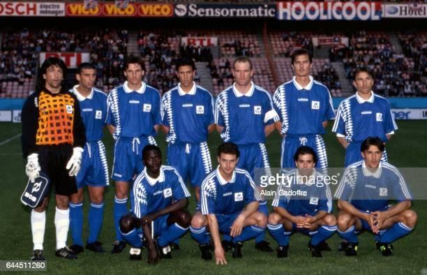 Equipe de Bastia PSG / Bastia Finale de la Coupe de la Ligue saison 1994/95 Parc des Princes Paris Photo Alain Gadoffre / Icon Sport