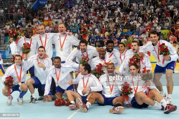 Equipe de France France / Islande Finale Jeux Olympiques Pekin 2008
