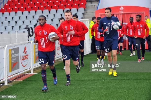 Equipe de Lille Lille / Grenoble Ligue 1 28eme journee Stadium Nord Villeneuve D'ascq Photo Dave Winter / Icon Sport