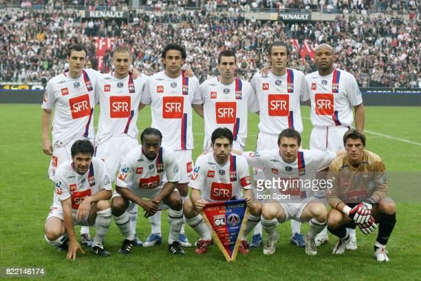 Equipe de Lyon Lyon / PSG Finale de la Coupe de France