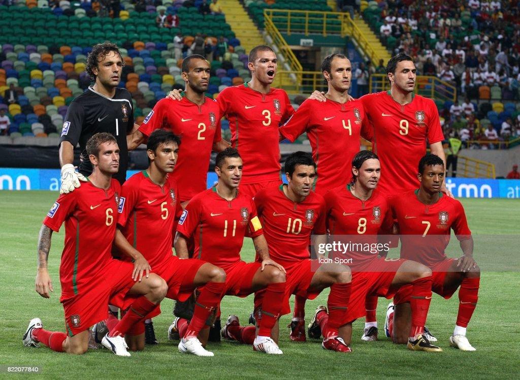 Equipe Du Portugal Portugal Danemark Eliminatoire De La