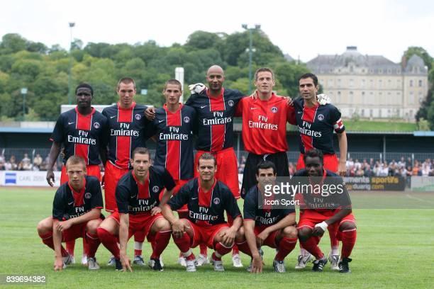 Equipe du PSG PSG / Dijon Match amical