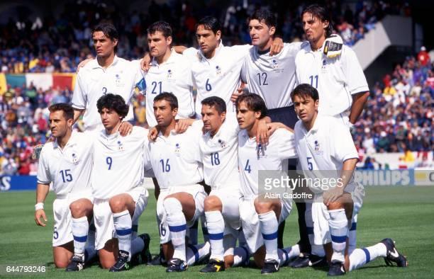 Equipe Italie - - Italie / Chili - Coupe du Monde, Photo : Alain Gadoffre / Icon Sport, , Gianluca Pagliuca / Paolo Maldini / Fabio Cannavaro...