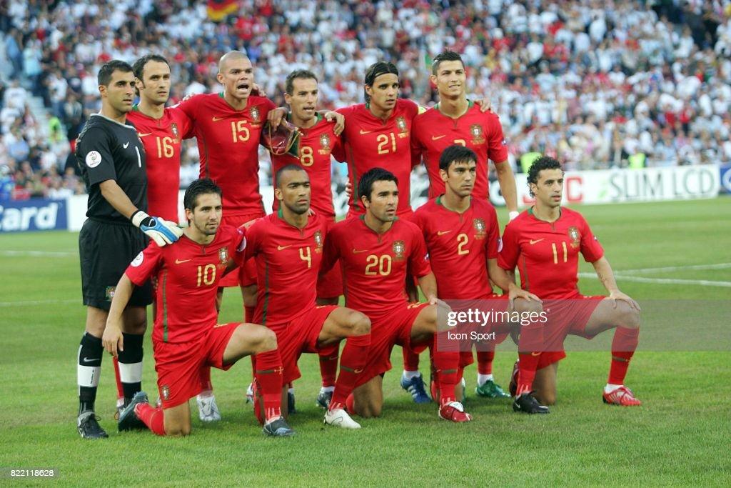 Equipe Portugal Portugal Allemagne 1 4 Finale Euro 2008