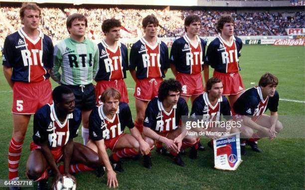 Equipe PSG Paris Saint Germain / Monaco Finale Coupe de France Photo Alain de Martignac / Icon Sport