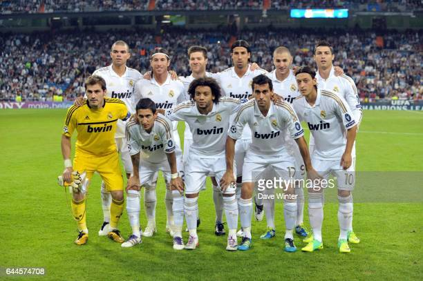 Equipe Real Madrid - - Real Madrid / Lyon - Ligue des Champions, Groupe D, 3e journee. Photo: Dave Winter / Icon Sport.