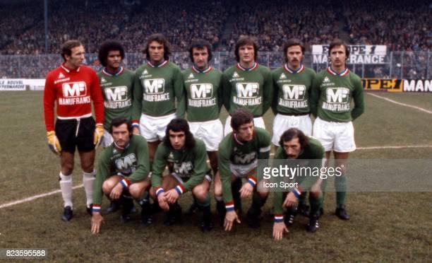 Equipe Saint Etienne Saint Etienne / Marseille Championnat de France Ligue 1