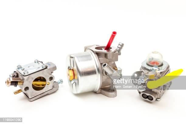 equipment against white background - florin seitan stock pictures, royalty-free photos & images