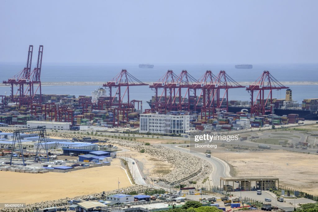 Construction and Development at the Port City Colombo Project : News Photo