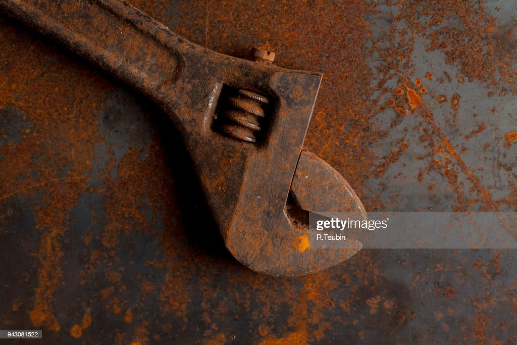 Equipment for locksmith and metalworking shop : Stock Photo