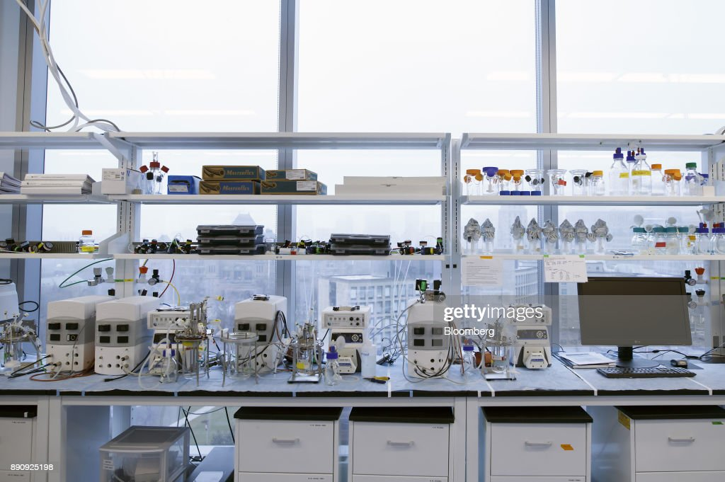 Equipment is seen in the laboratory of the Centre for    News Photo
