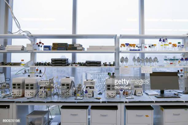 Equipment is seen in the laboratory of the Centre for Commercialization of Regenerative Medicine at the MaRS Discovery District in Toronto Ontario...