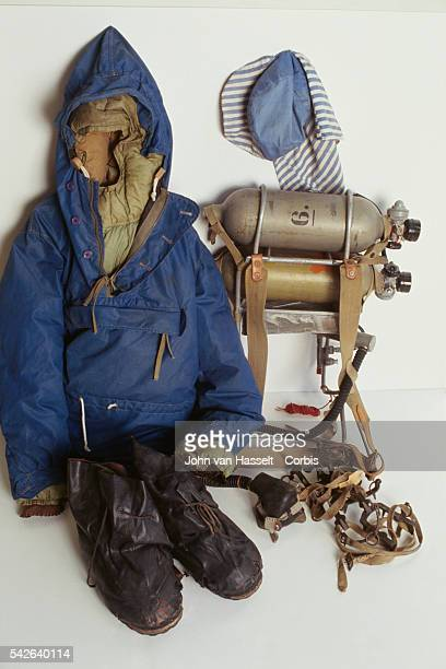 Equipment used by Sir Edmund Hillary when he summitted Everest on May 29 1953 housed in a Christchurch museum