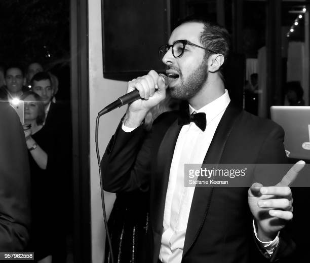 Era performs at Alexa Dell and Harrison Refoua's engagement celebration at Ysabel on May 12 2018 in West Hollywood California