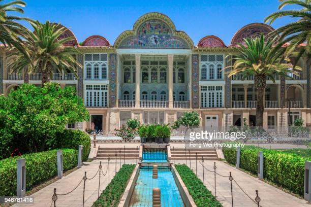 eram garden, shiraz, fars province, iran - shiraz stock pictures, royalty-free photos & images