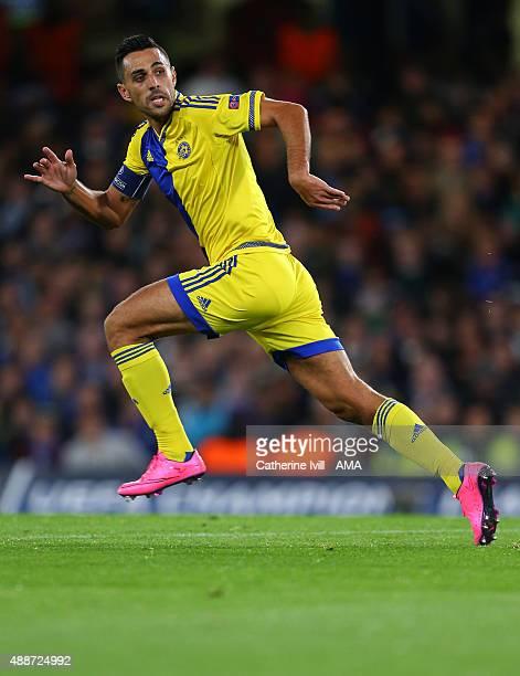 Eran Zahavi of Maccabi Tel Aviv during the UEFA Champions League group G match between Chelsea and Maccabi TelAviv at Stamford Bridge on September 16...