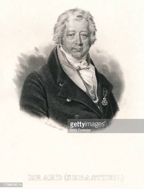 Erard ' 1835 Portrait of GermanFrench instrument maker Sébastien Érard who specialised in the production of pianos and harps and pioneered the modern...