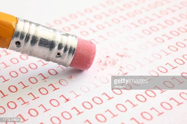 Erase Binary Data