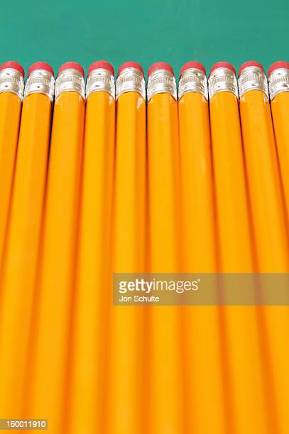 Eraser-tipped pencils