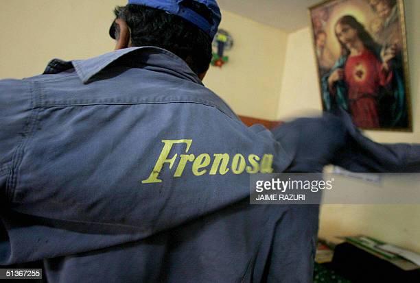 Erasmo Linan obrero soldador quien se encuentra jubilado despues de trabajar por 24 anos en una empresa peruana de fabricacion de productos que...