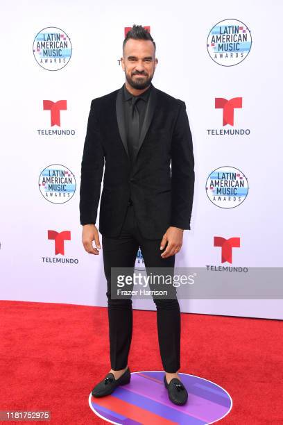 Erasmo Provenza attends the 2019 Latin American Music Awards at Dolby Theatre on October 17 2019 in Hollywood California