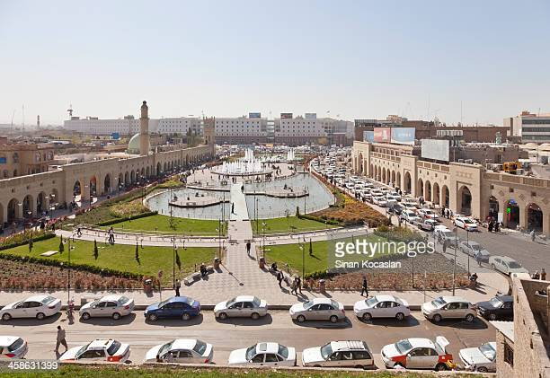 Erbil city view from Castle