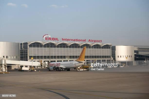 Erbil International Airport in northern Iraq