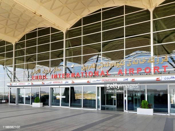 erbil international airport, iraqi kurdistan - frans sellies stockfoto's en -beelden